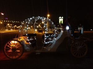 lights for a horse drawn carriage