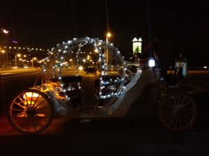 Cinderella Horse Drawn Carriage