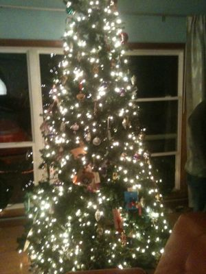 family-christmas-tree