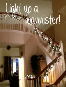 Project:  Light Up Your Stairway Banister