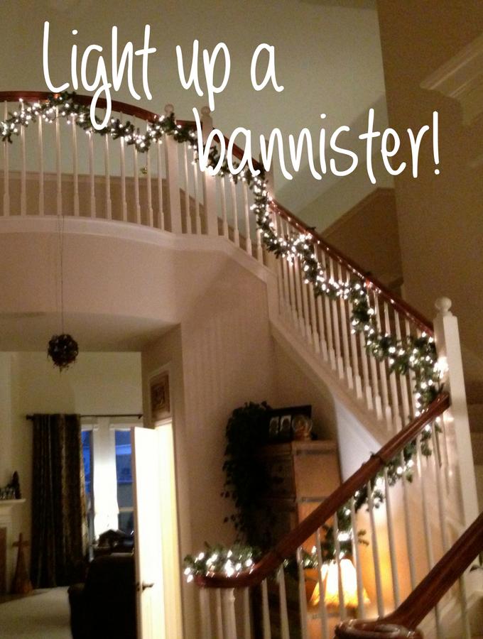 light-up-a-banister