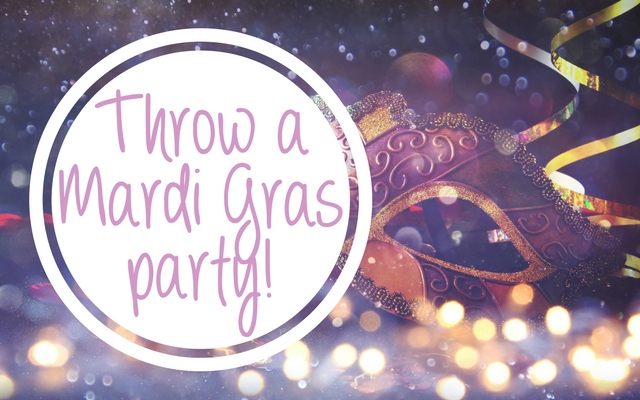 Light Up Winter with a Mardi Gras Party