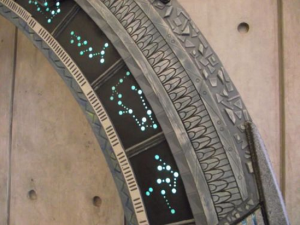 DFW Sci-Fi Club Uses C9 bulbs in Stargate Model
