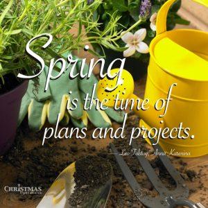 Spring Plans for the Garden