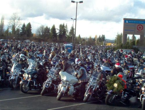 Olympia Toy Run Motorcycles