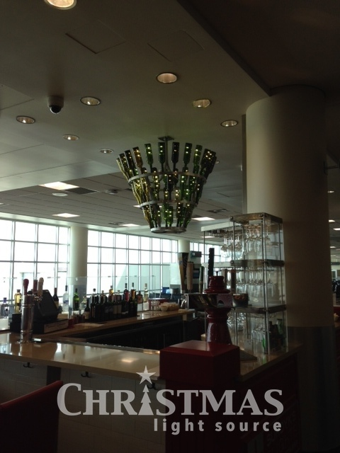 Decorating tips from the airport! Who knew?