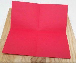 Paper lantern step 1