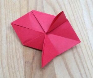 Paper lantern step 8