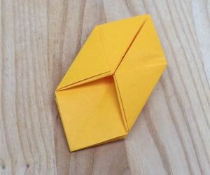 Paper lantern step 11