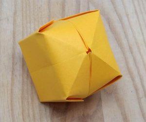 Paper lantern step 12