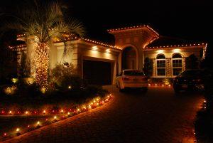 How do I install Christmas lights on tile roofs?