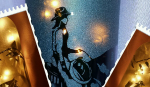 Sandblasting Wine Bottles