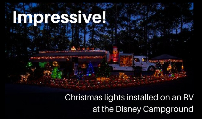 Lights Across the Country: Florida Disney World Campground