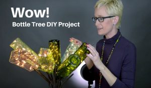 Craft Lights: Use them in bottle trees!