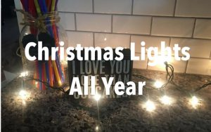 13 Ways to use your Christmas Lights All Year!