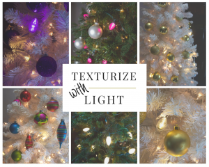 Texturize Your Christmas Tree with Light!