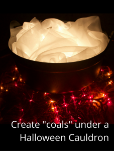 Halloween Cauldron – Light it up!