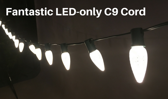 what is the best cord for c9 led bulbs