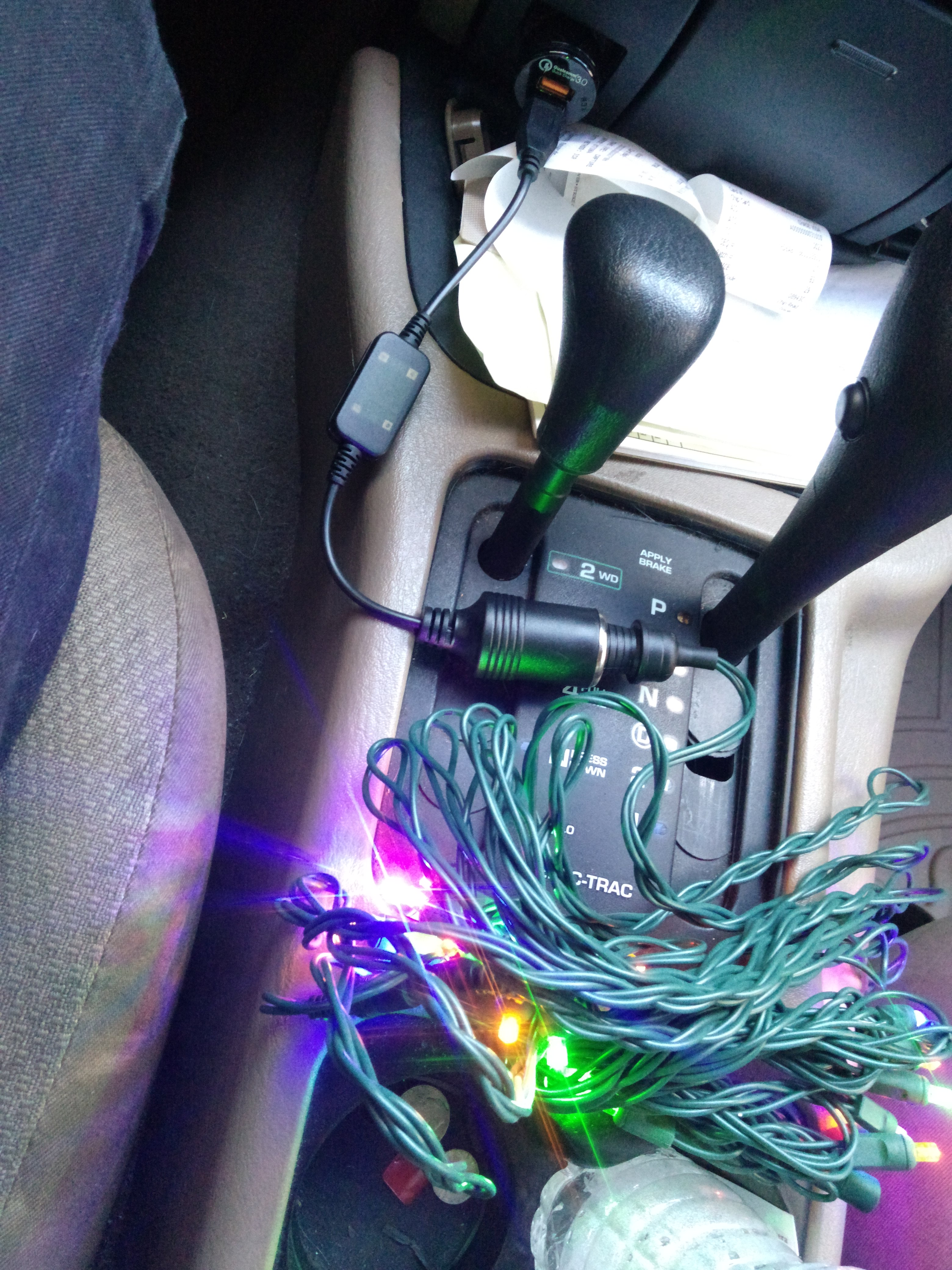Installing 12 volt christmas lights in your car you might also like lighting a solar powered house 12 volt mozeypictures Gallery