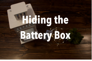 Hiding the Battery Box in Your Craft Projects