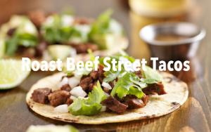 Instant Pot Roast Beef Street Tacos