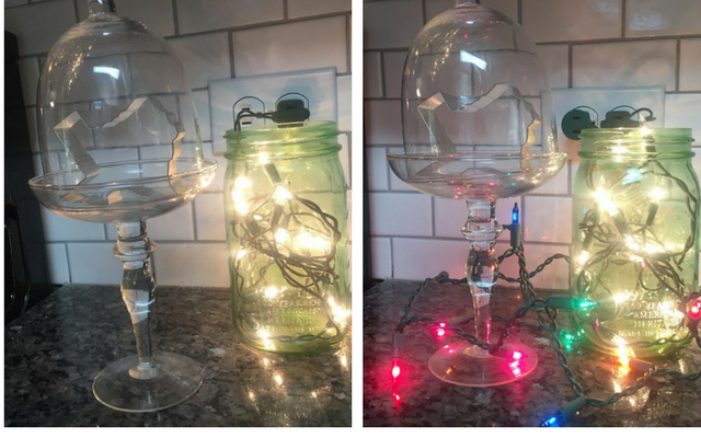 String Lights For Mantelpiece : What Can I Do With One String of Craft Lights?