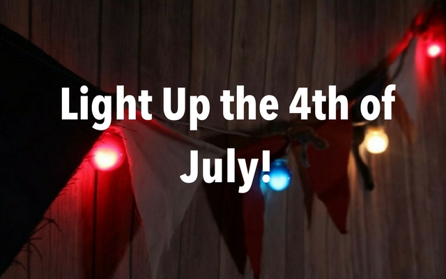 Light Up the 4th of July with Banners and Lights