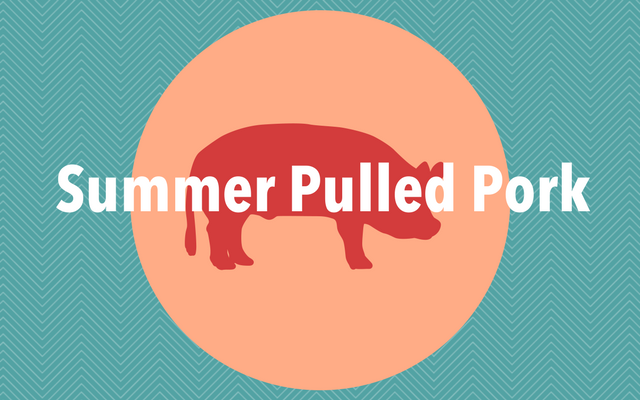 Crock Pot Summer Pulled Pork