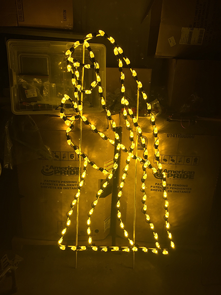 Lighting Up A Nativity Christmas Light Source