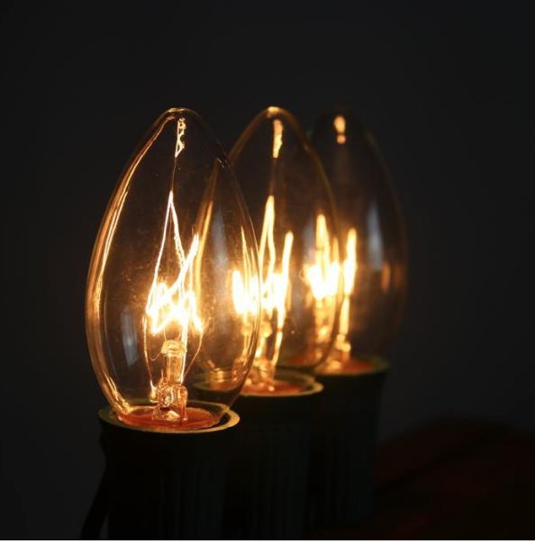 C5 Christmas Light Bulbs
