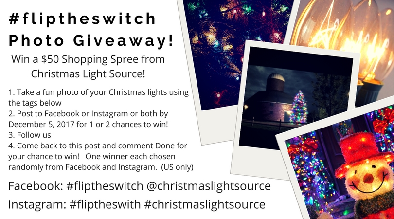 Our Flip the Switch Giveaway!!