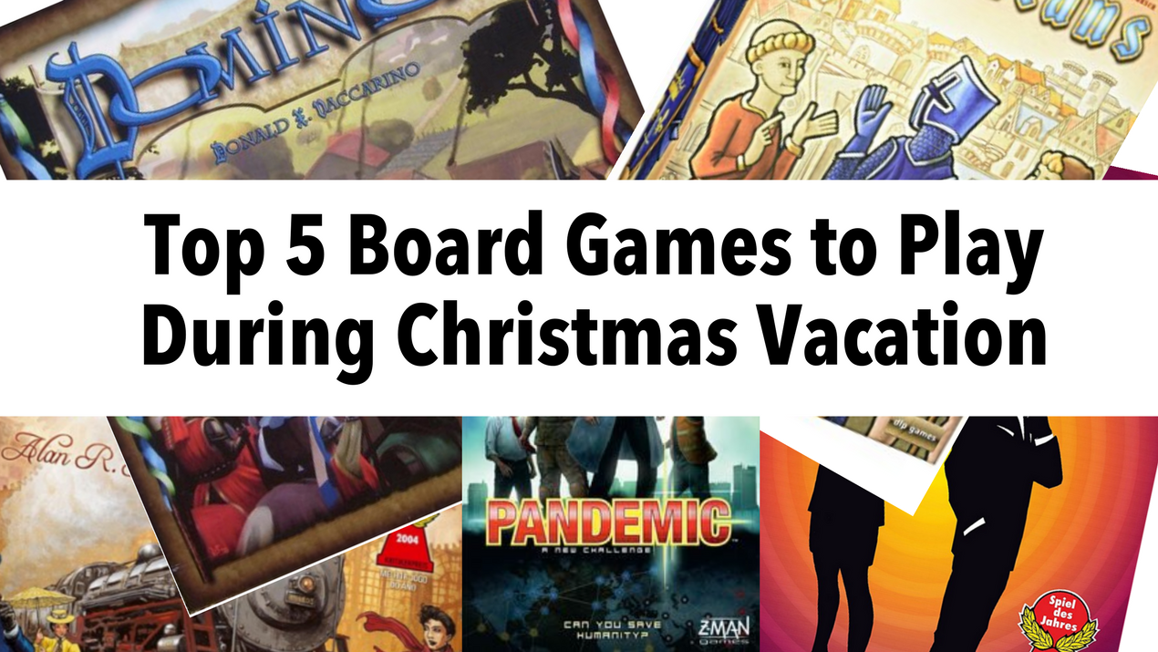 Board Games for Christmas & New Years
