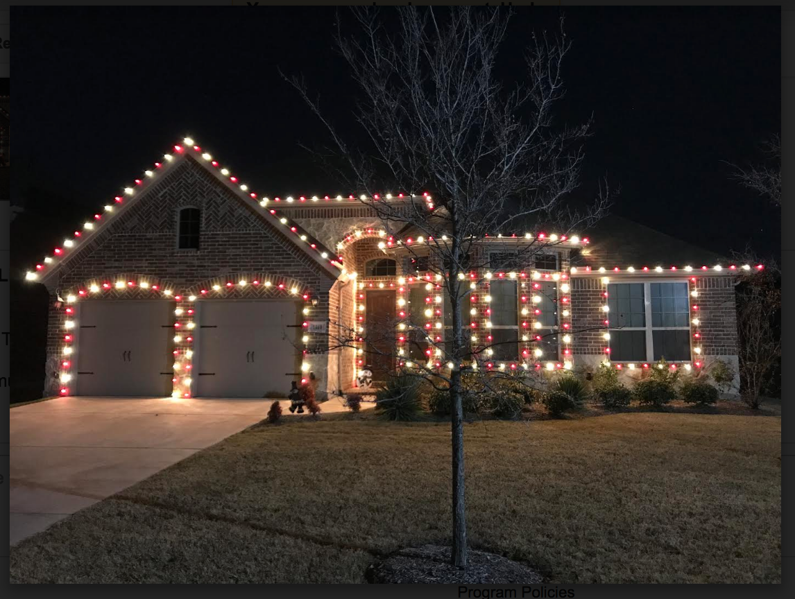 Customer Photo Red And White Smooth Led Bulbs