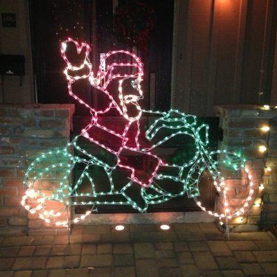 Santa on a Harley!!