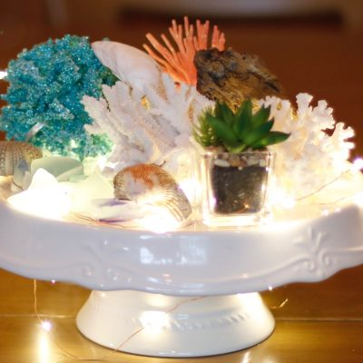 Wedding Centerpieces: Bringing the Beach