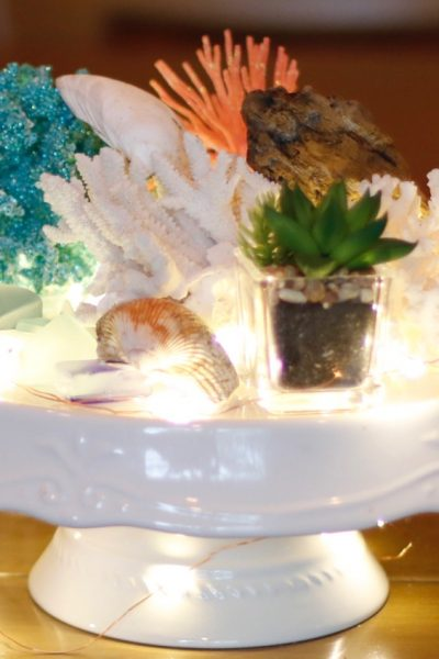 Wedding Centerpieces: Bringing the Beach