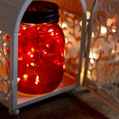 Centierpiece Lights: Mason Jars meet Lanterns