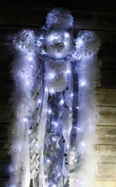 Christmas Homecoming Mum.Homecoming Mum Lights Christmas Light Source