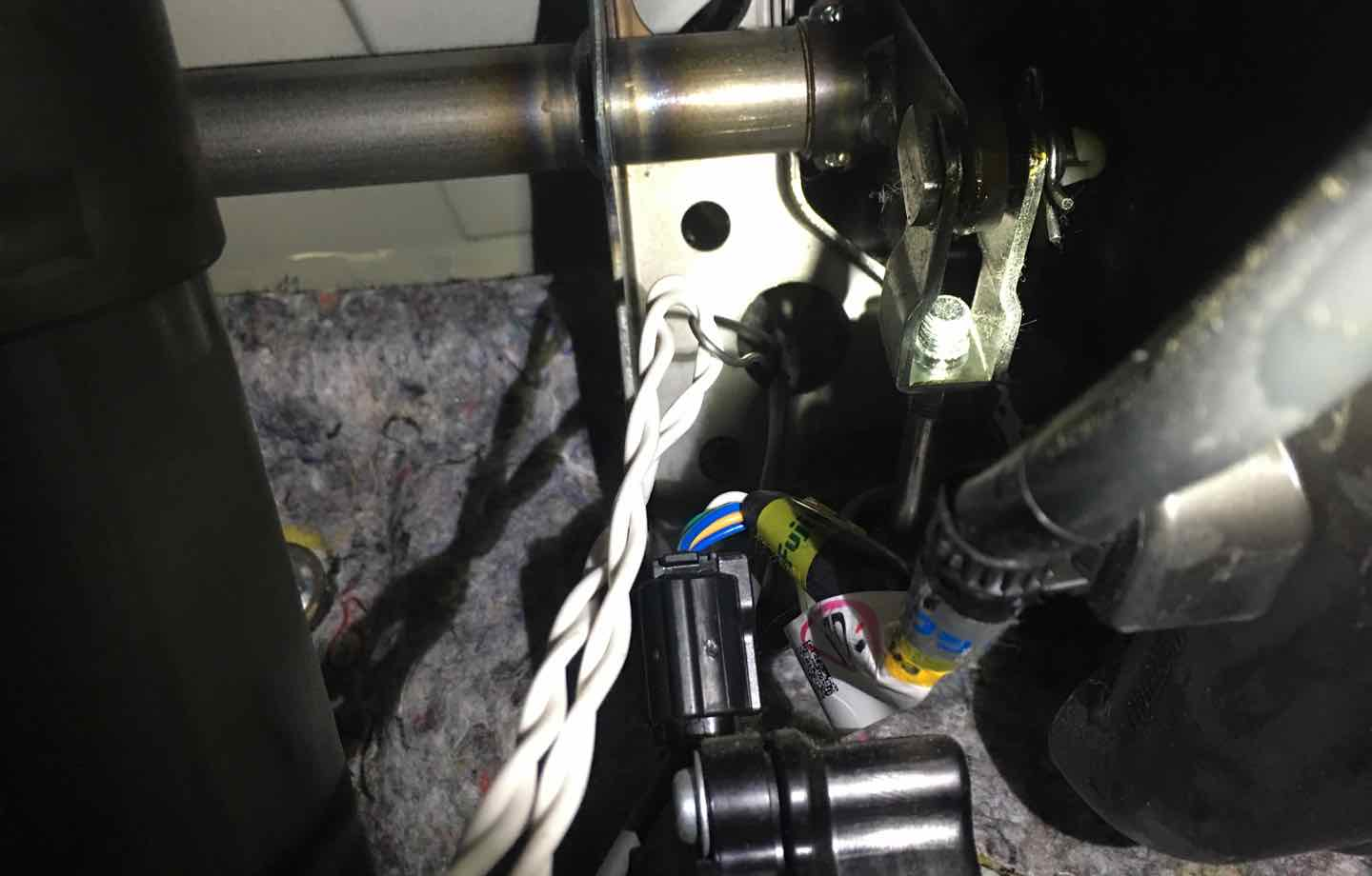 Diy Holiday Car Wreath Christmas Light Source Wiring A On Loop Next Is Photo Of Fishing The Cord Through With Wire You Start In Engine Compartment To Interior And Use