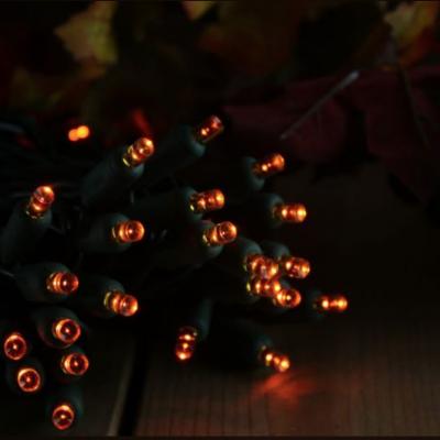 Using Orange LED Christmas Lights
