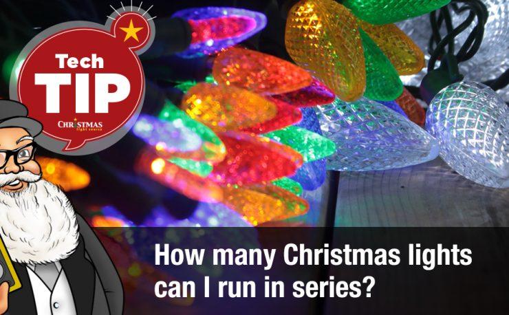 How Many Christmas Lights Can I String Together Christmas Light