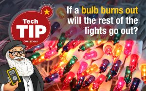 If a bulb burns out will the rest of the lights go out?