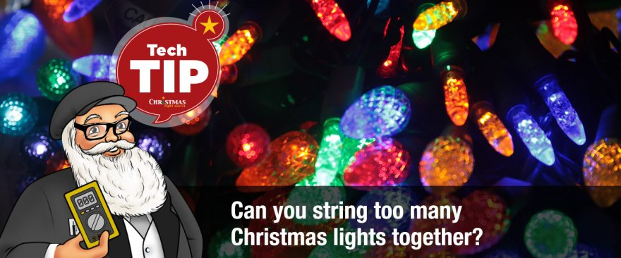 Can You String Too Many Christmas Lights Together?