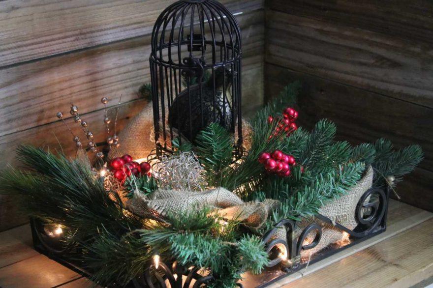 Christmas Birdcage