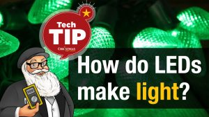 How do LEDs make light?