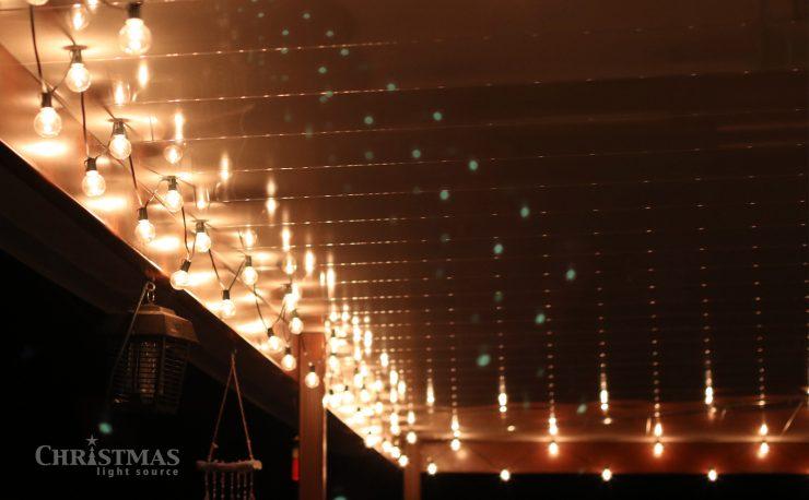 DIY: Lighting a Patio for Graduation Parties!