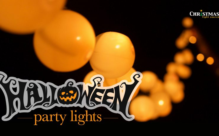 Halloween party lights