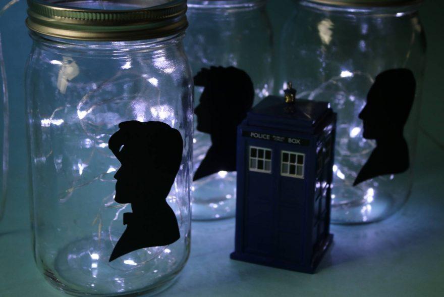 Battery Lights, Mason Jars, and Dr. Who!