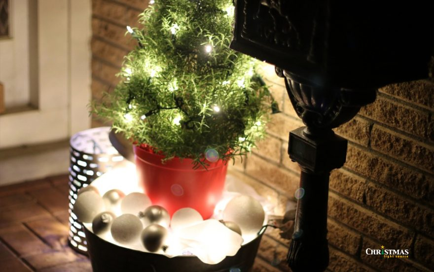 10 Ways to Use LED Christmas lights all year!