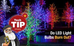 Do LED light bulbs burn out?